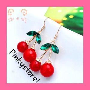 🍒Crystal Cherry Earrings 🍒